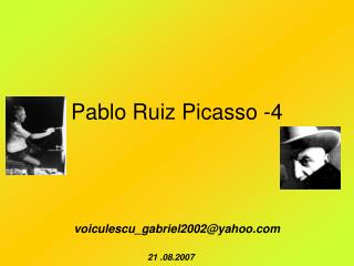 Pablo Ruiz Picasso -4