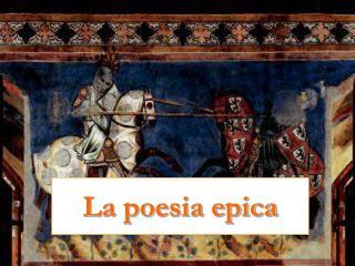 La poesia epica
