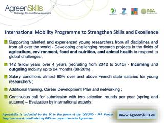 International Mobility Programme to Strengthen Skills and Excellence