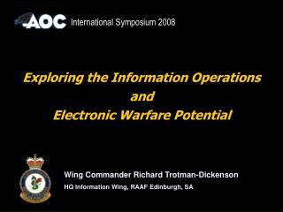Exploring the Information Operations  and  Electronic Warfare Potential