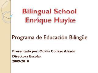 Programa de Educación Bilingüe
