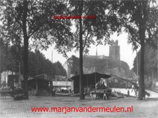 Aardappelmarkt in 1910