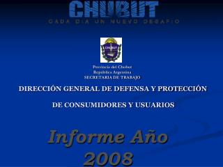 Informe Año 2008