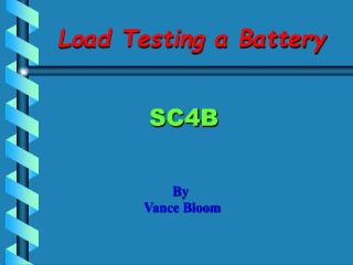 Load Testing a Battery