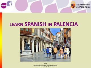 LEARN SPANISH IN PALENCIA