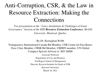 The role of transparency in addressing corruption and the need for further research