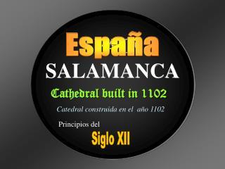 SPAIN SALAMANCA