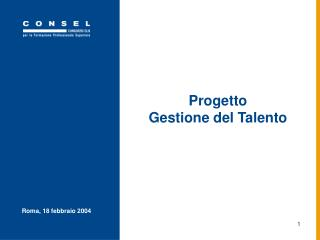 Progetto Gestione del Talento