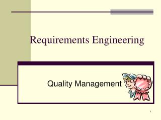 Requirements Engineering