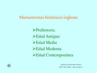 Monumentos históricos ingleses