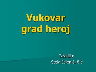 Vukovar   grad heroj