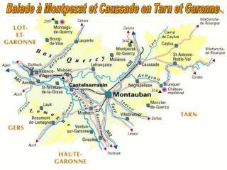 Balade à Montpezat et Caussade en Tarn et Garonne