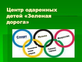 Центр одаренных детей «Зеленая дорога»