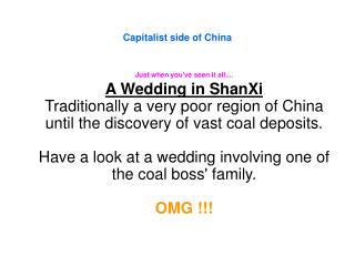 Capitalist side of China