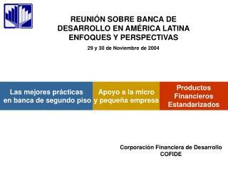 Productos Financieros Estandarizados