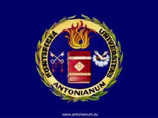 antonianum.eu