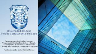FORMACIÓN ACADÉMICA Universidad Privada Dr. Rafael Belloso Chacín   -  Actualmente