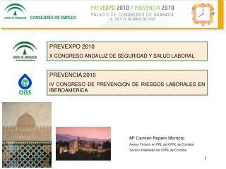 PREVEXPO 2010 X CONGRESO ANDALUZ DE SEGURIDAD Y SALUD LABORAL