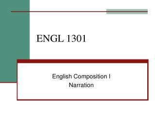 ENGL 1301