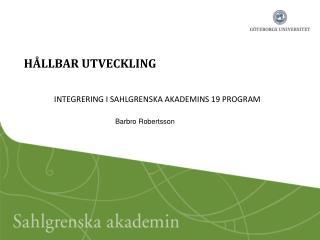 H�LLBAR UTVECKLING