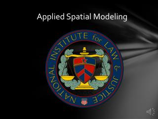 Applied Spatial Modeling