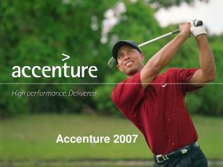 Accenture 2007