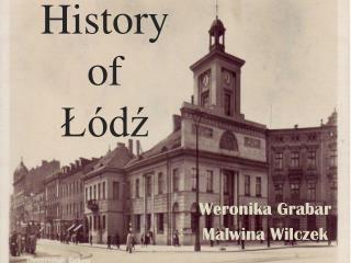 History of  Łódź