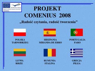 PROJEKT COMENIUS  2008