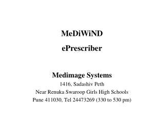 Medimage Systems 1416, Sadashiv Peth Near Renuka Swaroop Girls High Schools