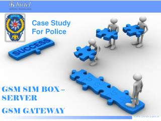 GSM SIM BOX –SERVER GSM GATEWAY