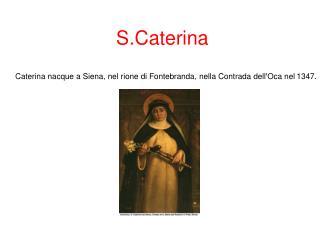 S.Caterina