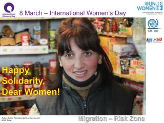 Happy  Solidarity,   Dear Women!