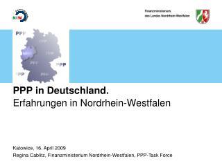 PPP in Deutschland.