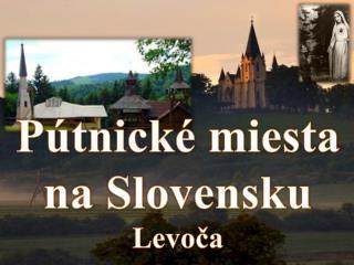 P�tnick� miesta na  Slovensku Levo?a