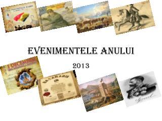 Evenimentele anului