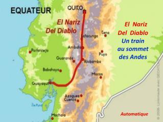 El  Nariz  Del  Diablo Un train au sommet des Andes