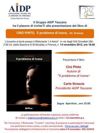 CIRO PINTO,  Il problema di Ivana,   Ed.  Drawup
