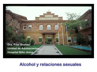 Dra. Pilar Bra�as Unidad de Adolescentes Hospital Ni�o Jes�s