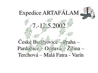 Expedice ARTAFÁLAM