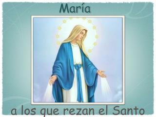 Promesas  de  María