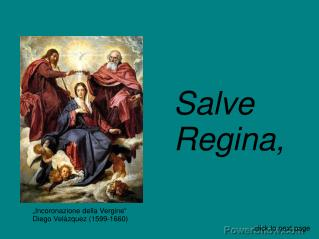 """""""Incoronazione della Vergine"""" Diego Velázquez (1599-1660)"""