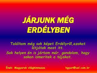 J�RJUNK M�G ERD�LYBEN