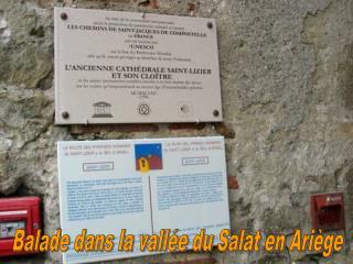 Balade dans la vallée du Salat en Ariège