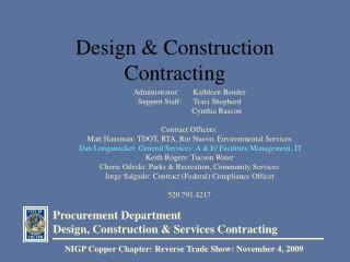 Design  Construction Contracting