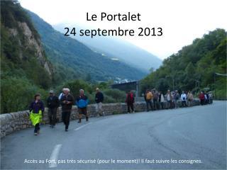 Le Portalet 24 septembre 2013