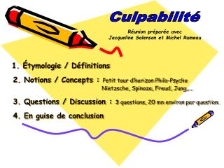 Culpabilité