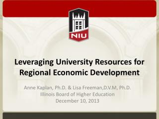 Leveraging University Resources for Regional Economic Development