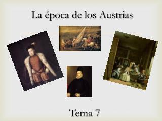 La época de los Austrias