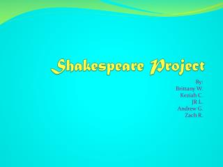 Shakespeare Project