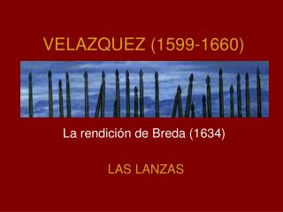 VELAZQUEZ (1599-1660)